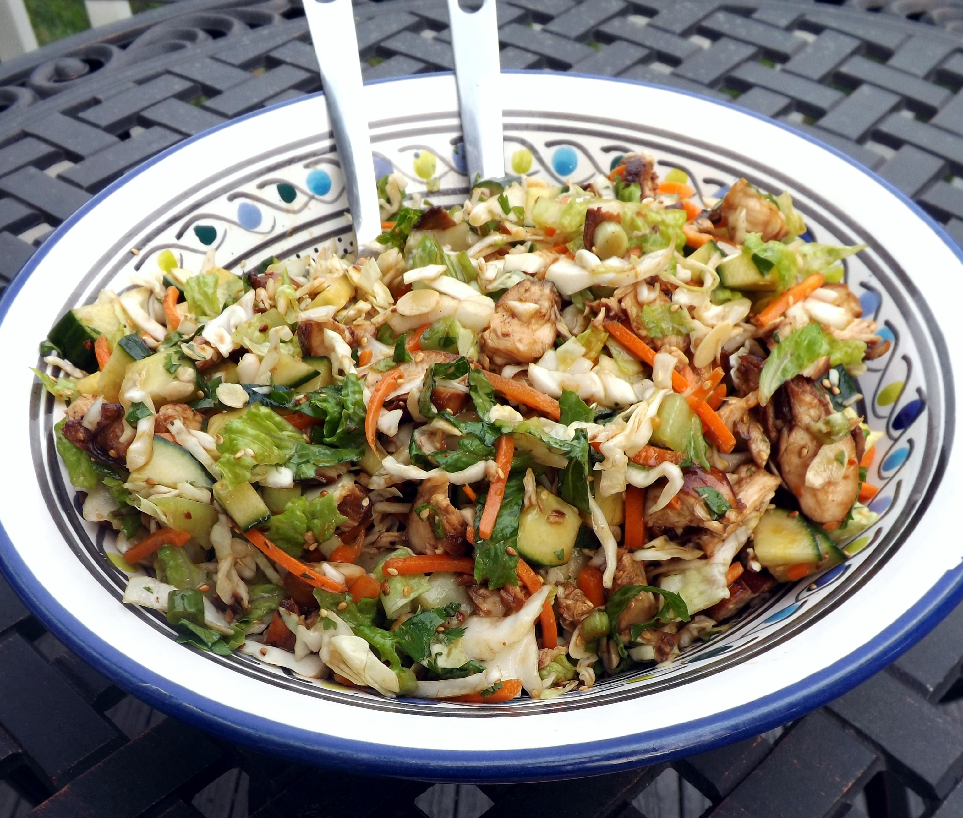 Asian Almond Chicken Salad Recipes — Dishmaps