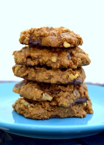 Pumpkin Oatmeal Chocolate Chip Cookies © G. Stansbury