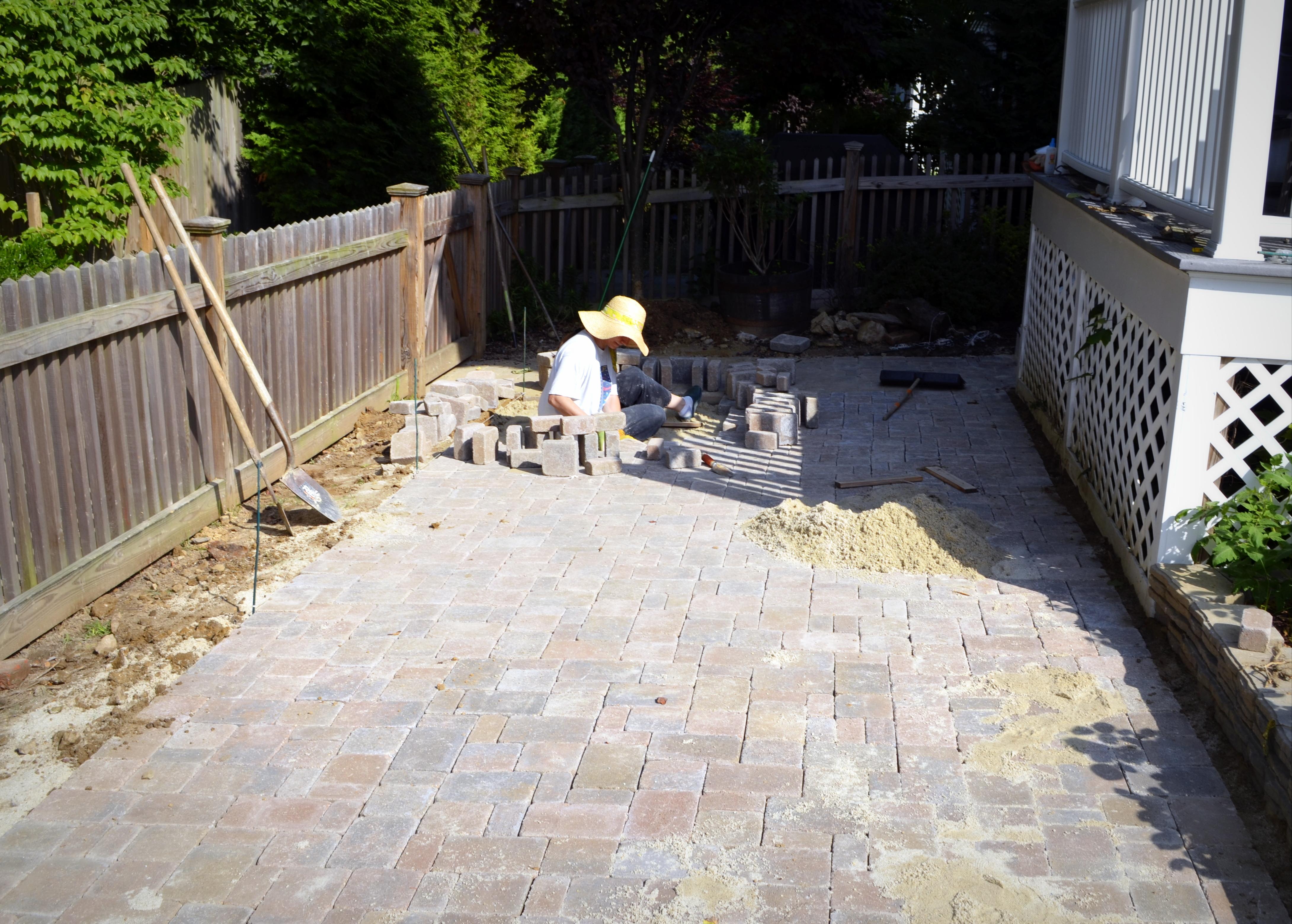 Narrow Backyard Deck : Garden Update Monarda, Milkweed, and a Moon